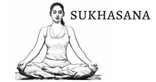 سوکهاسانا ( چهار زانوی ساده )