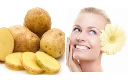 خواص ماسک سیب زمینی برای پوست