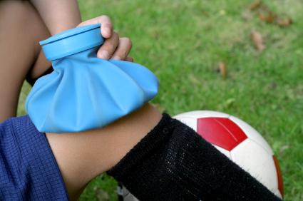 یخ درمانی در هنگام آسیبدیدگی ورزشی