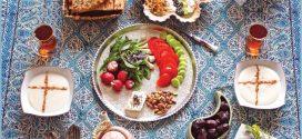 نکته های تغذیه ای روزه داران در ماه رمضان